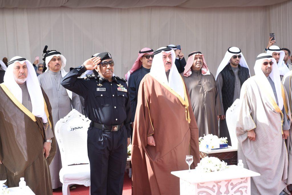 احتفال محافظة الجهراء برفع العلم ايذانا ببدء احتفالات الكويت الوطنية