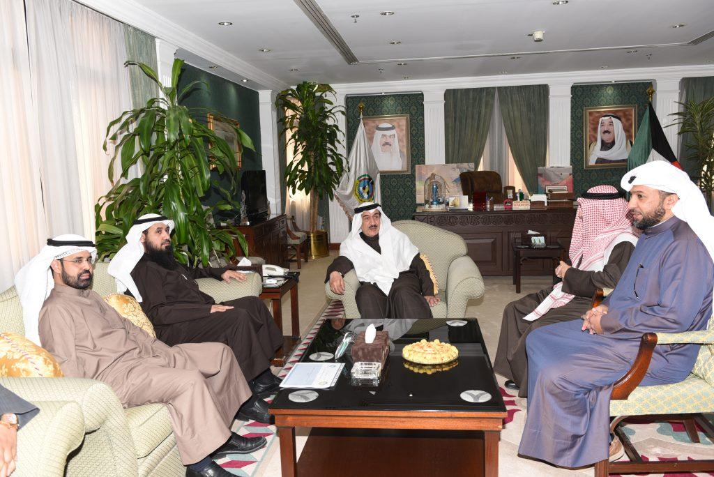 محافظ الجهراء يبحث اوجه التعاون مع رئيس مجلس ادارة جمعية المهندسين الكويتية
