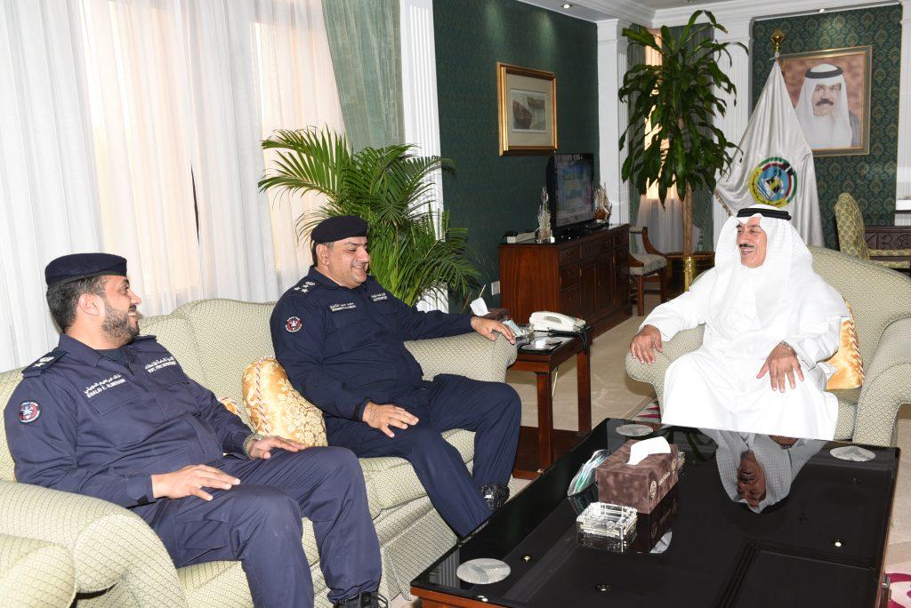 محافظ الجهراء مركز اطفاء جديد لمدينة سعد العبدالله في مطلع العام القادم