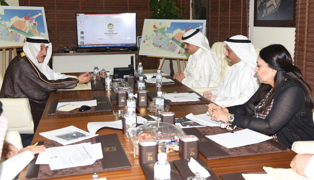 محافظ الجهراء يبحث مشاريع المحافظة المستقبلية مع مدير عام بلدية الكويت
