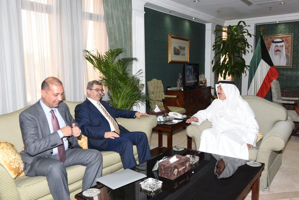 محافظ الجهراء يستقبل سعادة سفير جمهورية العراق لدى دولة الكويت