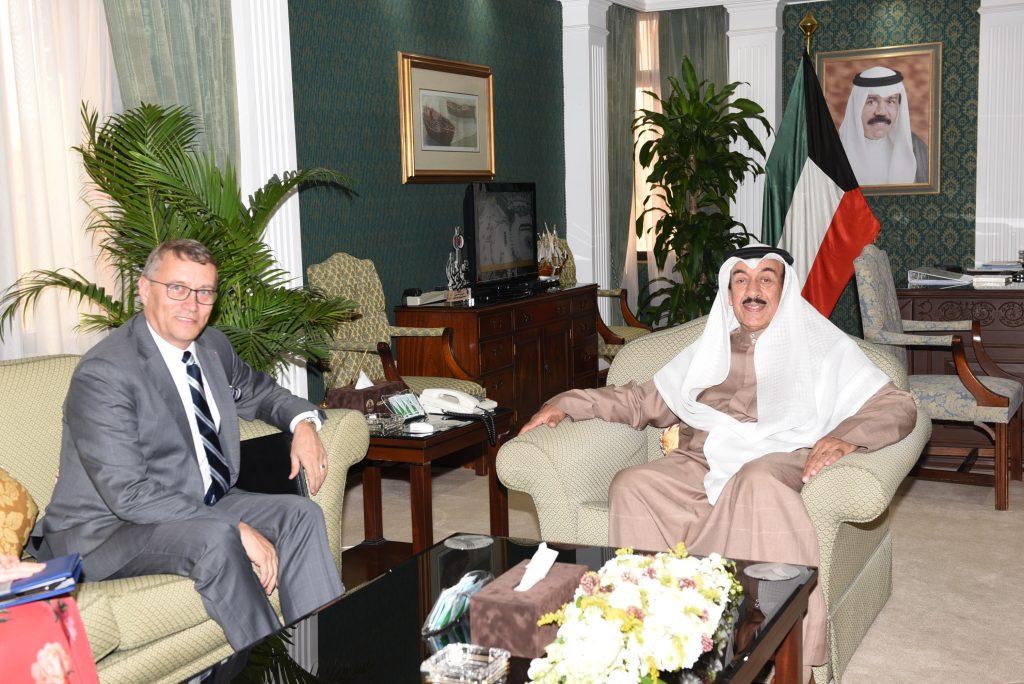 محافظ الجهراء يستقبل سعادة سفير جمهورية التشيك لدى دولة الكويت