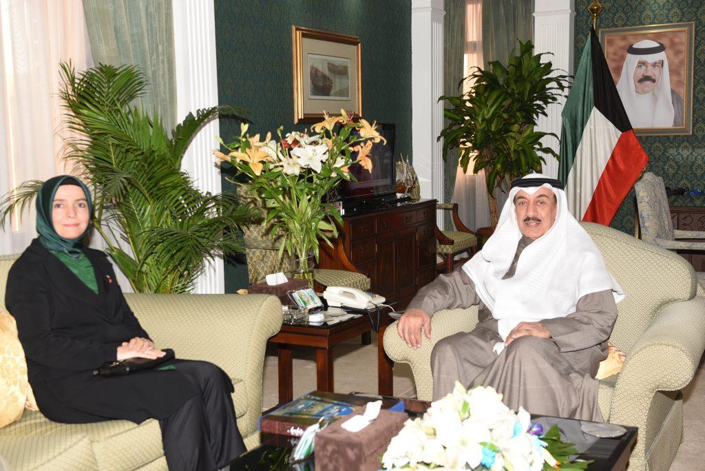 محافظ الجهراء يستقبل سعادة سفيرة جمهورية تركيا لدى الكويت